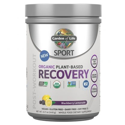Garden of Life Sport Organic Post Workout Recovery Drink Antioxidant Supplement, Vegan