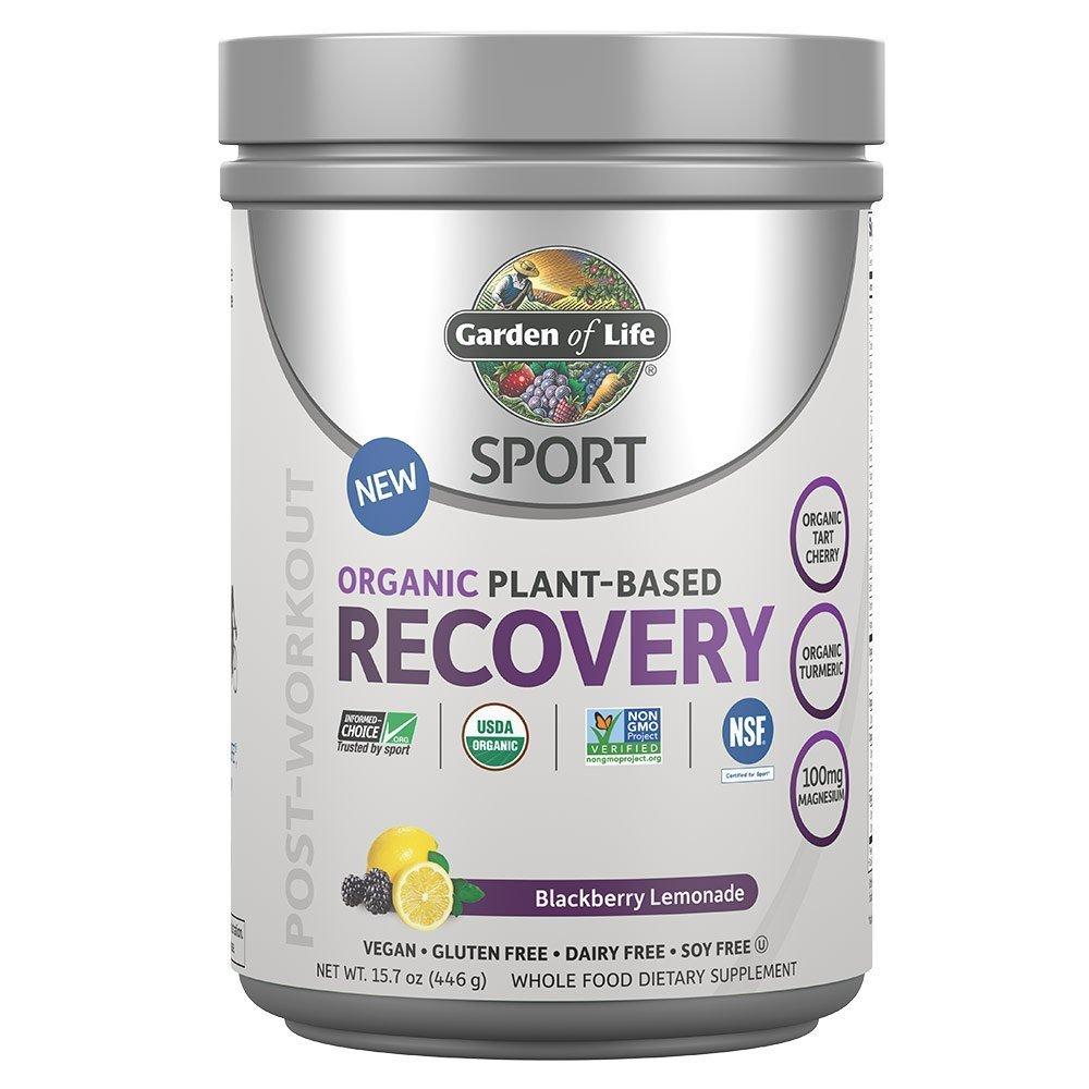 Garden of Life Sport Organic Post Workout Recovery Drink Antioxidant Supplement, Vegan