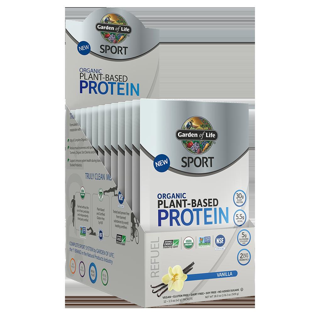 Garden of Life - Sport Organic Plant-Based Protein Vanilla
