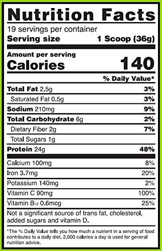 Optimum Nutrition Gold Standard 100% Plant Based Protein Powder, 1.51 lb or 1.59 lb - Plant Based Pros