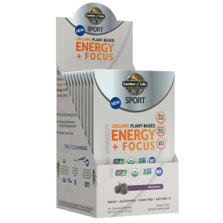 SPORT Organic Plant-Based Energy + Focus Blackberry