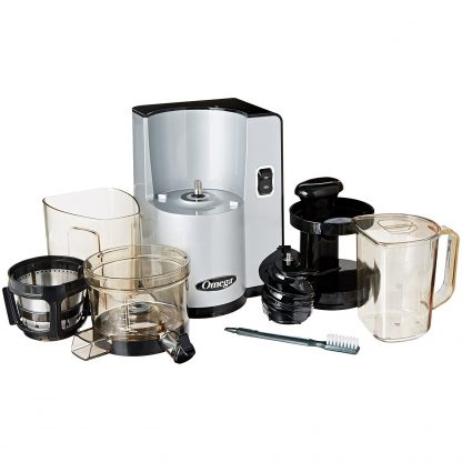 OMEGA VERTICAL JUICING SYSTEM SILVER VSJ843QS