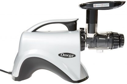 Omega NC800 HDS 5th Generation Nutrition Center Juicer, Silver