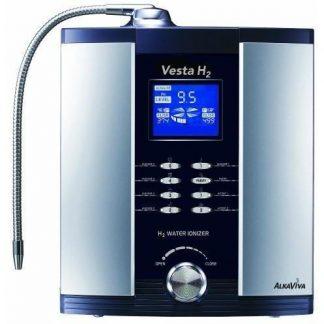 ALKAVIVA VESTA H2 9-PLATE ALKALINE WATER IONIZER FILTER PURIFIER