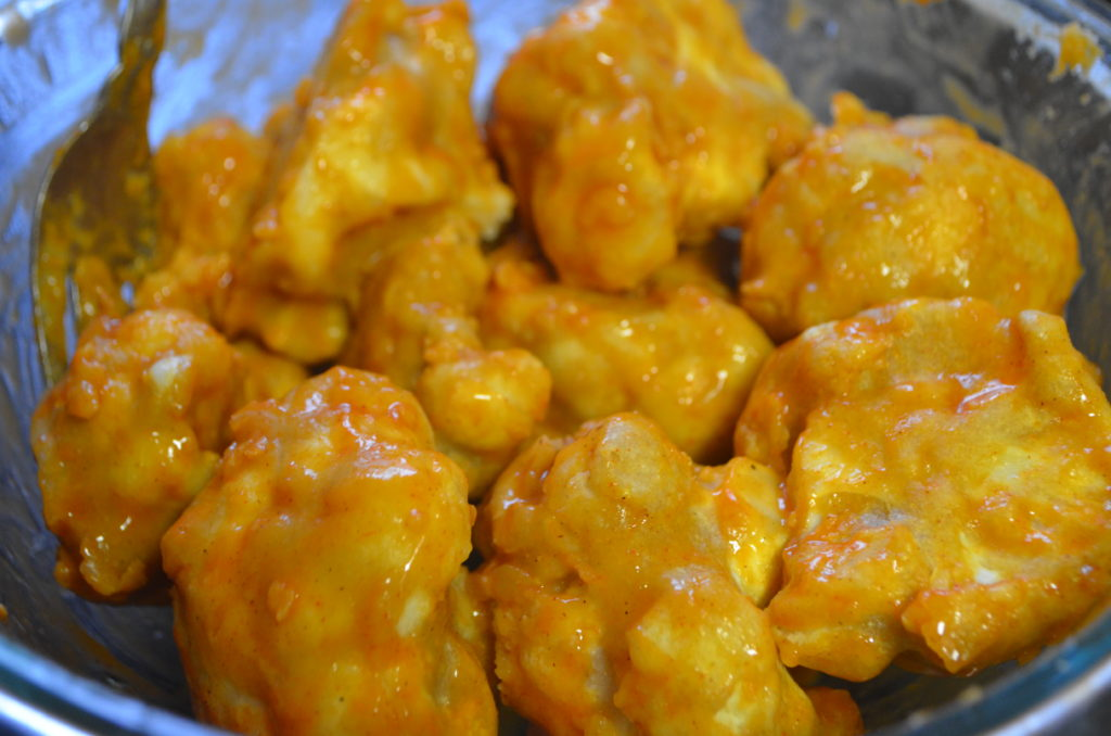 Plant Based Pros - Buffalo Cauliflower Wings