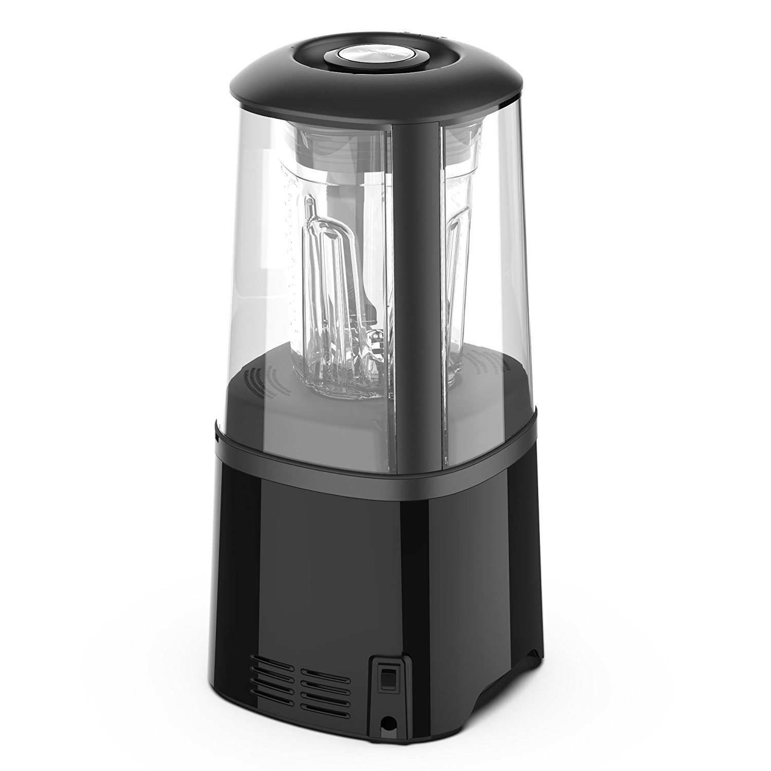 Kuvings Vacuum Sealed Auto Blender SV500B with BPA-Free Components, Quiet Blender, Virtually No Foam, Heavy Duty 3.5 HP Motor, 7 Year Warranty, Black