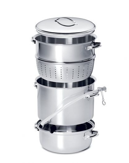 Mehu-Liisa - Stainless Steel Steam Juicer & Food Steamer - 11 liter