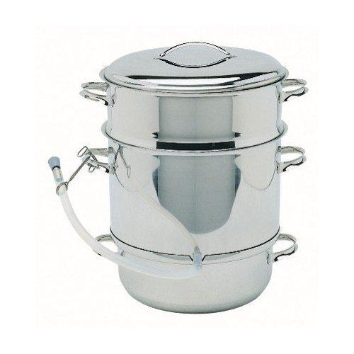 Mehu-Liisa - Stainless Steel Steam Juicer & Food Steamer - 11 liter