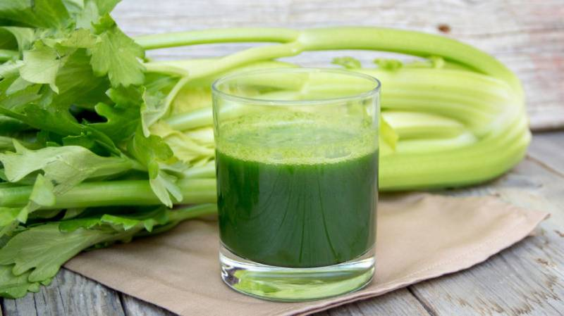 The Best Way to Juice Celery