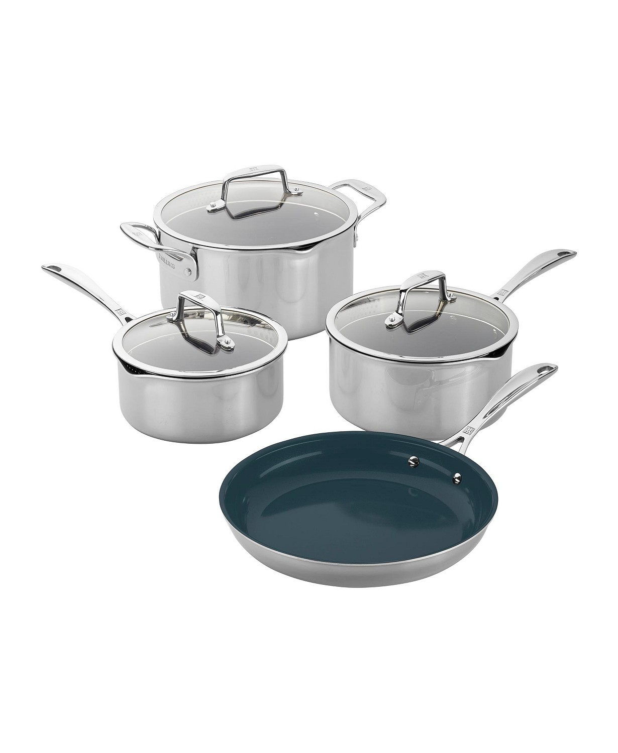 Zwilling Clad Cfx Cookware Set 7 Pc Set Or 10 Pc Set
